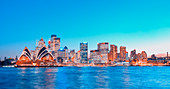 Central Business District skyline, Sydney, New South Wales, Australia, Pacific
