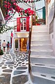 Mykonos Town, Mykonos, Cyclades Islands, Greek Islands, Greece, Europe