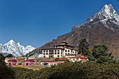 The Tengboche Monastery in Solo Khumbu, Nepal, Himalayas, Asia.