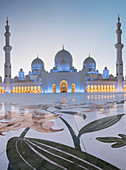 Sheikh Zayed Grand Mosque, Abu Dhabi, Vereinigte Arabische Emirate