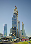 Sheikh Zayed Road, Al Yaqoub Tower, Dubai, Vereinigte Arabische Emirate
