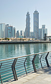 Promenade on Dubai Creek, Emirates Park Towers, Dubai, United Arab Emirates