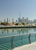 Dubai Creek, Burj Khalifa, Dubai, United Arab Emirates