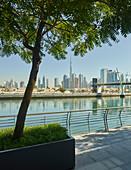 Promenade on Dubai Creek, Burj Khalifa, Dubai, United Arab Emirates