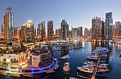 Skyscrapers at Dubai Marina, Dubai, United Arab Emirates