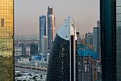 Skyscrapers in Downtown Dubai, United Arab Emirates