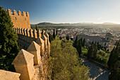 Blick vom Santuari de Sant Salvador, Artà, Mallorca, Balearen, Katalonien, Spanien