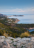 View from Cap Vermell to the north, Mallorca, Balearic Islands, Catalonia, Spain