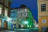 Steingasse in Coburg, Oberfranken, Bayern, Deutschland