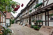 Engelgasse, Gengenbach, Kinzigtal, Ortenau, Black Forest, Baden-Württemberg, Germany