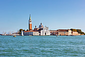 The island of San Giorgio Maggiore in Venice, Veneto, Italy