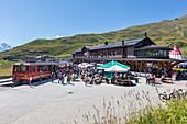 Kleine Scheidegg train station, Bernese Oberland, Switzerland