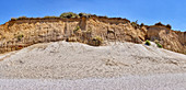 The red cliff, Wenningstedt, Panorama, Sylt, Germany