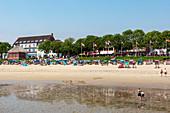 Strand, Wyk, Foehr, Scheswig-Holstein, Germany
