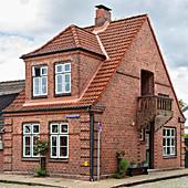 Residential house, Flachsblumen Strasse 2, Friedrichstadt, Schleswig-Holstein, Germany