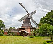 Aeoulus Mill, Bargum, Schleswig-Holstein, Germany