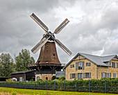 Windmill Auguste, Schleswig, Schleswig-Holstein, Germany
