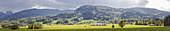 Lippskirchen near Bad Feilnbach, Panorama, Bavaria, Germany