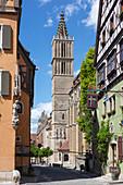 City Church St. Jakob in Rothenburg ob der Tauber, Middle Franconia, Bavaria, Germany