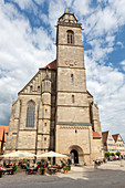 Minster St. Georg in Dinkelsbühl, Middle Franconia, Bavaria, Germany