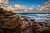 On the Breton coast, Brittany, France, Europe