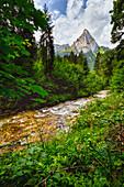Den Geiselsteinim Blick, hallech, Ammergau Alps, Bavaria, Germany
