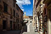 Visiting Sorano, Grosseto Province, Tuscany, Italy, Europe