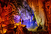 In the Dim Cave near Alanya, Turkish Riviera, Turkey, Western Asia