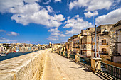 Out and about in Vittoriosa, Malta, Mediterranean, Europe