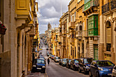 Walk through Valletta, Malta, Mediterranean, Europe