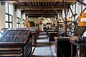 Former printing company, Plantin-Moretus Museum, UNESCO World Heritage Site, Antwerp, Belgium, Europe