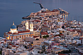City of Ermoupoli on Syros island, Cyclades, Greek Islands, Greece, Europe