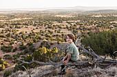 young boy, Galisteo Basin, Santa Fe