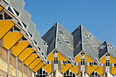 Cubic houses, Architect Piet Blom, Rotterdam, South Holland, Netherlands, Europe