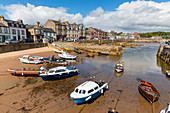 Millport harbour, Great Cumbrae, Firth of Clyde, Scotland, United Kingdom, Europe