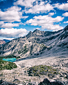 Welsh Lake, Purcell Mountains in Background, British Columbia, Canada