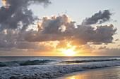 Sunset at Miami Beach, Barbados Island,  Lesser Antilles, West Indies, Caribbean region