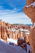 Hoodoos from Navajo Loop Trail, Bryce Canyon National Park, Utah, Usa
