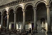 Interior of San Lorenzo, the cathedral of Viterbo. Viterbo, Lazio, Italy, Europe