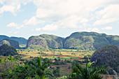 View over Viñales Valley in Cuba