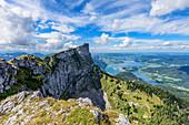 Schafberg and Mondsee in the Salzkammergut, Austria