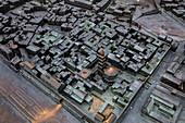 Model of the city, Split, Split-Dalmatia, Croatia, Europe