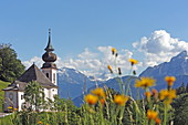 Pilgrimage Church Maria Gern, Berchtesgaden, Upper Bavaria, Bavaria, Germany