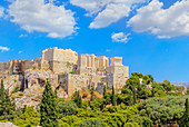 Acropolis of Athens, Athens, Greece, Europe,