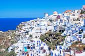 Oia Dorf, Oia, Santorini, Kykladen, Griechenland