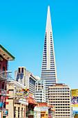 Transamerica Pyramid, Chinatown, San Francisco, California, USA