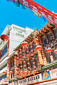 Chinatown decorations, San Francisco. California, USA