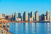 San Diego skyline and harbor, San Diego, California, United States of America,