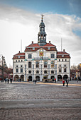 View of the town hall in Lueneburg, Germany