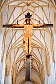 Choir arch cross; Josef Henselmann; 1954; Modern;